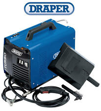 DRAPER 10233 150Amp Gasless & Gas MIG Welder With Visor, Brush & Welding Tip