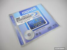 Maxel BD-R DL Dual Layer BluRay 50GB, 1-2x Jewel Case