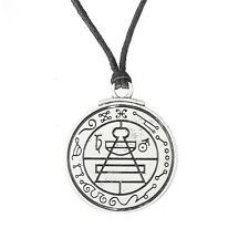 Talisman Secret Key Of Solomon Pentacle Necklace Hermetic Kabbalah Pagan Jewelry