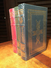 Easton Press DIVERGENT TRILOGY Veronica Roth 3 vol SIGNED SEALED