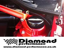 CLIO SPORT V6 GLOSS BLACK STRUT TOP COVERS-SET MANY COLOURS AVAILABLE
