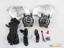 12 13 14 15 FORD RANGER STYLE OEM FOG LIGHTS Kit LAMPS E-MARK w/ cable switch