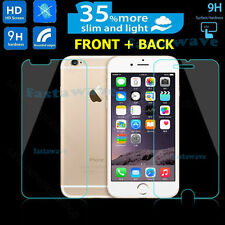 Genuine Tempered Glass Screen Protector for iphone 6 6s - Front and Back 2Pcs