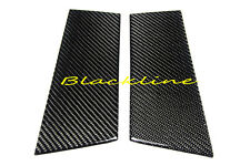 2003~2008 350Z Z33 Real Carbon Fiber Door Trim Pillar Panel Cover Overlay Nismo