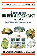 R. Apollonio - G. Carosella  COME APRIRE UN BED&BREAKFAST IN ITALIA DURA31