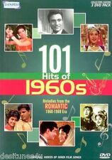 101 HITS OF 1960S - BOLLYWOOD MUSIC 3 DVD SET - FREE POST
