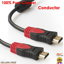 US Seller HDMI Cable Category 2,Full 1080P 15FT BLURAY DVD HDTV TV 1080P