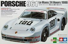 Tamiya 24320 1/24 Scale Car Model Kit Team AG Porsche 961 Le Mans 24hrs '86 GTX