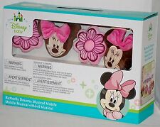 Disney Minnie Mouse Butterfly Dreams Musical Crib Mobile - Plays Brahms' Lullaby