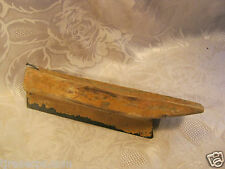 ANTIQUE PRIMITIVE FOLK ART HANDMADE WOOD TOY SAIL BOAT 8.5 INCHES