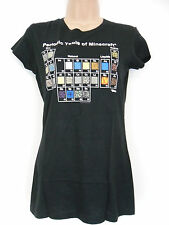 Official Minecraft Periodic Table Women's black T-Shirt Medium