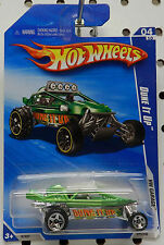 GREEN DUNE IT UP 072 10 2010 GARAGE HW HOT WHEELS