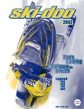 Ski-Doo parts manual catalog book 2002 LEGEND 600, LEGEND 700 & LEGEND 800
