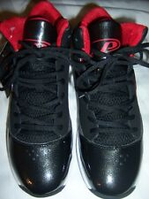 Men's NWT Pro Player Basketball Shoes Black/Red Sz 9