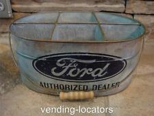 FORD Authorized Dealer Bucket Mustang Truck Boss Shelby Mobil Galvanized Can