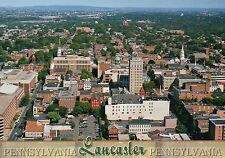 Downtown Area of Lancaster, Pennsylvania, PA Dutch, Red Rose City --- Postcard