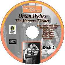 Orson Welles - The Thirty Nine Steps, Abraham Lincoln,  Hell On Ice +OTR MP3 CD