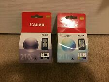 "Canon PG-210XL /CL-211XL Color Ink Cartridge Combo Pack-Black ""New Retail"""
