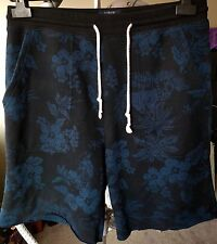 J.CREW Authentic Fleece Floral Jogger Sweat Shorts, S, Cotton/Poly, Spring 15