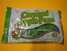 New Tootsie Caramel Apple Pops  11.25 oz  Green apple candy coated with  caramel