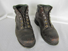 wolverine  Mens Boots 10  Leather Uppers Balance Man Made Brown Black Hard Toes