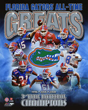 FLORIDA GATORS All-Time Greats Glossy 8x10 Photo Smith Tebow Harvin Haden Poster