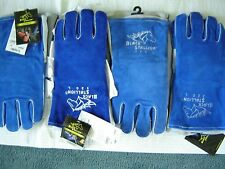 Black Stallion 320 Cushion Core Stick Welding Gloves, Large 4 pair