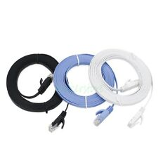 3pcs 3M CAT6 Ethernet Network LAN Cable Flat UTP Patch Router DSL Cables
