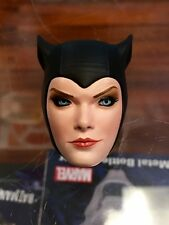 1/6 Sideshow Collectibles Figure Catwoman SMIRKING HEAD SCULPT ONLY JC