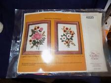 Vintage Creative Circle Embroidery Kit- 0225 ROSES AND DAISIES