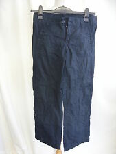 "Boys Trousers age 12-13 cargo black waist 30"" length 36"" height 158cm 0022"