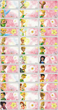 45 TINKLE BELL Personalised Name Stickers,Labels,Tags,