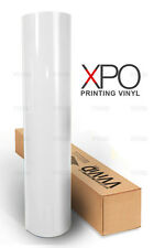 """66ft x 54"""" polymeric 3MIL printing vinyl highly conformable VVIVID XPO adhesive"""