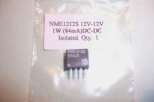 12V to 12V 1W DC-DC Converter isolated single output. New  Qty 1
