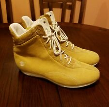 Women Timberland Nu-buck Suede Lace up Fashion Boots Size 11
