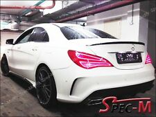Painted CLA45 AMG Tail Spoiler Trunk Lip For 2013+ W117 C117 CLA180 CLA250 CLA
