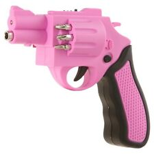 Gun Power Screwdriver - Pink (Revolver Shaped Cordless Rechargeable Screw Gun)