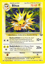 "Pokemon Dschungel  "" Blitza"" Holo deutsch / german  Mint / Near Mint   #04/64"