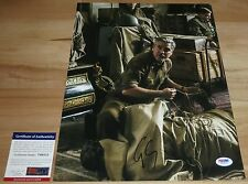 George Clooney Signed 11x14 The Monuments Men Frank Stokes PSA/DNA