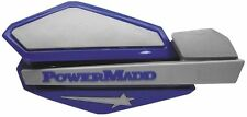 POWERMADD STAR SERIES HAND GUARDS YAMAHA BLUE / SILVER MX ATV SNOWMOBILE