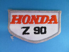 Vintage Honda Z90 Z 90  Motorcycle Biker Vest Jacket Hat Patch Crest Dirt Bike A