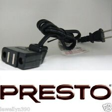 Presto #09982 Fry Daddy Grand Pappy Deep Fryer Magnetic Cord NEW!!