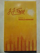 RONALD HARWOOD.J J FARR.PLAY,1ST/1 S/B 1988