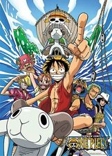 * New * One Piece - The Straw Hat Pirates Licensed Cloth Wall Scroll