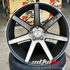 "18"" Niche Verona M150 Concave Black DDT Wheels Fits: Accord TSX RSX IS ES Altima"