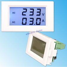 80-300V Voltmètre 50A AC Ampèremètre Numérique Digital LCD Display Mètre Tension