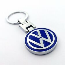 Metal Car double side Logo keyring key chain pendant Key Holder for Volkswagen