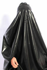 282 Latex Rubber Gummi Catsuit gowns Robe Burqa toga mask Niqab customized 0.4mm