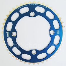 Porkchop BMX Chop Saw I single speed bicycle chainring 43T 4 bolt 104 bcd BLUE