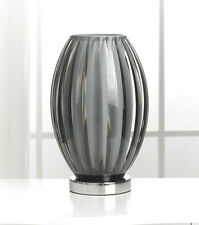 New Modern Black Curved Gemma Shell Table Lamp - 30cm Height